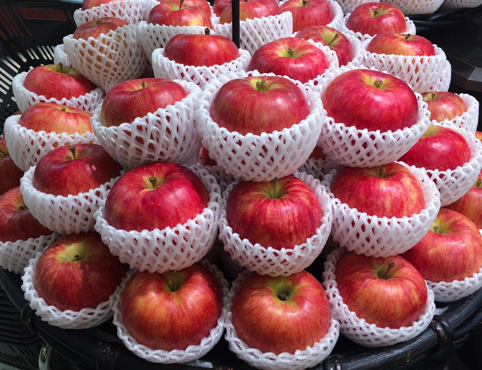 盛られたリンゴ